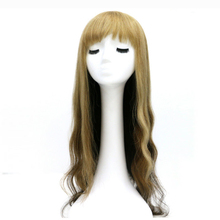 Factory direct selling natural small head machine made wig