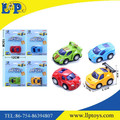 Four styles assorted pull back diecast cute sport car toy
