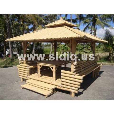 bamboo gazebo for Whole house