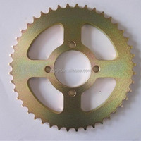 AX100 Brazil good quality motorcycle spare parts chain sprocket price