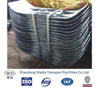Steel Flared Terminal Connector FIshtail for Guardrail