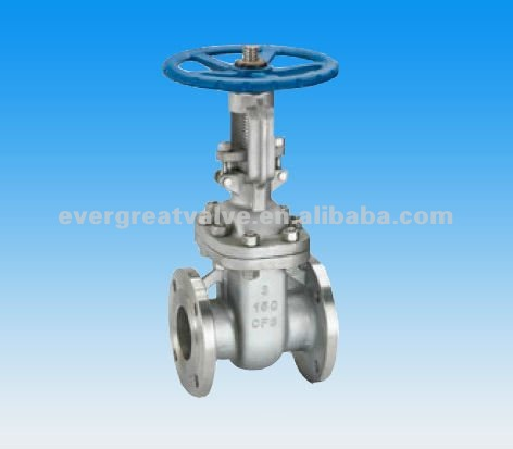 Cast Steel Gate Valve, Flanged End, ANSI 150#