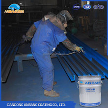 Bridge surface bi-component acrylic polyurethane protective finishing thermoplastic powder coating