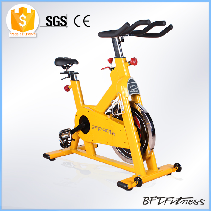 BSE08 spin bike 20kg flywheel/ magnetic spin bike with belt driving
