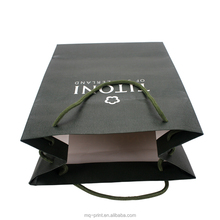 High quality Printing Packing retail Carry paper bags