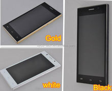 5 inch Capacitive Touch Screen MTK6572 celular 2 chips 3G Low Cost celulares android