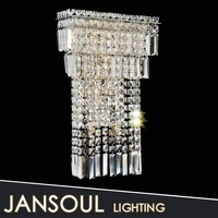 3 tiers crystal chandelier wall lamp modern home decorative wall lamps outdoor indoor