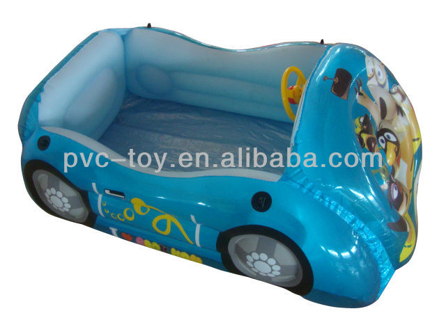 2013 pvc inflatable mini car modle for kids play