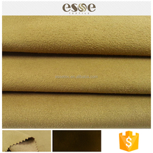 Fashion women clothing soft material 100 polyester suede fabric for the cloth