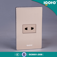 Igoto R series 10A 125V series american type switch socket outlet 2 pin socket
