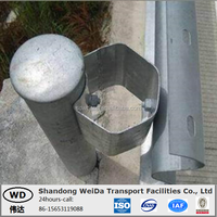 Strong Traffic Safety Barrier AASHTO M180 Highway Guardrail