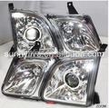 led Head Lamp 1998-2002 year White Glass cover For NON XENON car For Lexus LX470