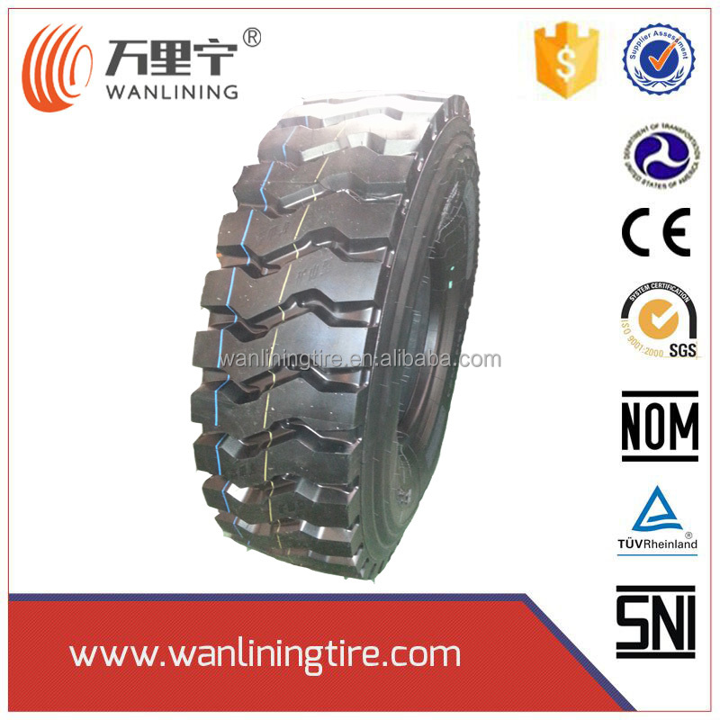 Hard Block Traction truck tyre Dump truck tyre 1200R24 1200R20 1100R20 1000r20 1200r20 tires with INTERTEK CIQ