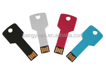 Hot sale full capacity Mini thin usb key flash drive