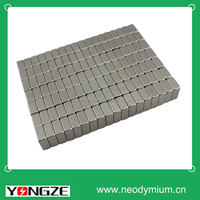 2014 Hot sale customized magnet block coated Nickel.