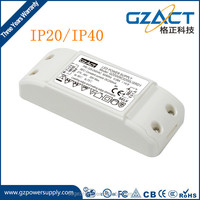 6w 8w 9w 300mA 500mA constant current triac dimmable led driver