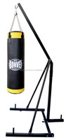 punching bag with Structure Steel rack