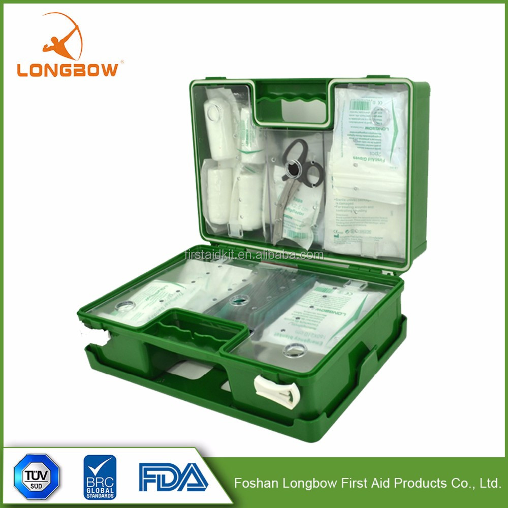 Alibaba Convenience Oem Medical Empty First Aid Case /First Aid Kit/First Aid Box