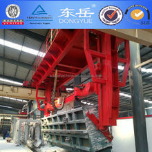Donyue brand 150000m3 aerated concrete block production line sand lime gypsum cement AAC block