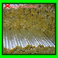 Various Foam Pipe Insulation Sizes -- Glass Wool Pipe With or Without Aluminum Foil