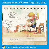 Customized Full Color Printing Desk Calendar