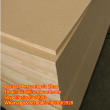 2.5mm 2.7mm 3mm 5mm thin plain mdf/HDF wood/mdf board factory