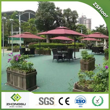 Professional outdoor sports flooring, plastic decking prices