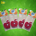 red apple fragrance paper air freshener roma perfume for kitchen