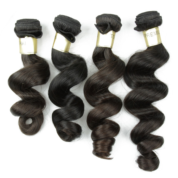 JP Wholesale Virgin Hair Extension Price Loose Wave 100% Indian Human Hair