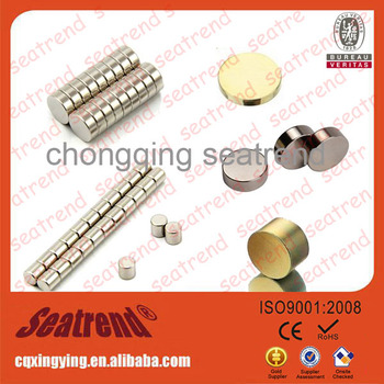 China magnet manufacturer strong small magnetic button for sale
