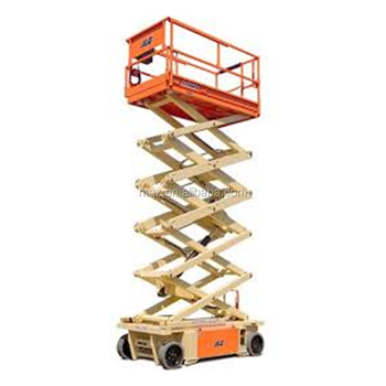 small electric driven platform scissor lift