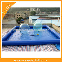 High quality Inflatable Colored rectangular pool