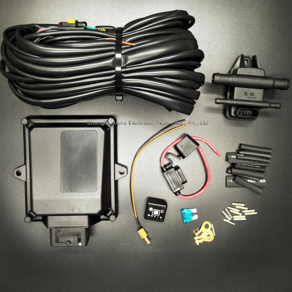 ALPHA FACTORY SUPPLY AUTO GAS NGV/CNG/LPG ECU MP48 OBD conversion kit for cars and trucks