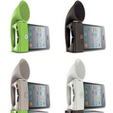 Silicone Horn Stand Amplifier Speaker,Amplified Outdoor Speakers,Mini Amplified Speakers