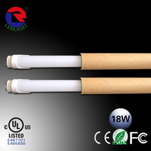 2014 Competitve price CE RoHs certificates Epistar 2835 chips high quality glass led tube