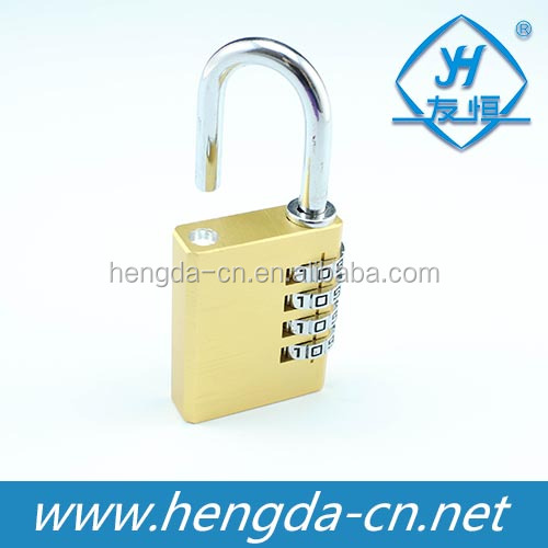 YH1234 Solid Brass 4 Digits High Security Combination Padlock
