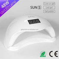 48w powerful sun light nail dryer Sun5 uv led curing nail lamp