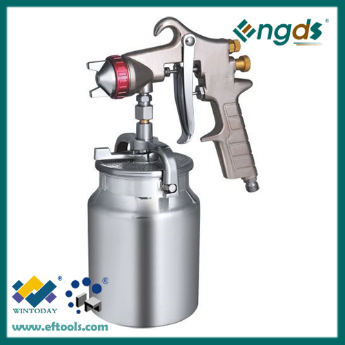 1000ml Suction Feed High Pressure fluid film spray gun