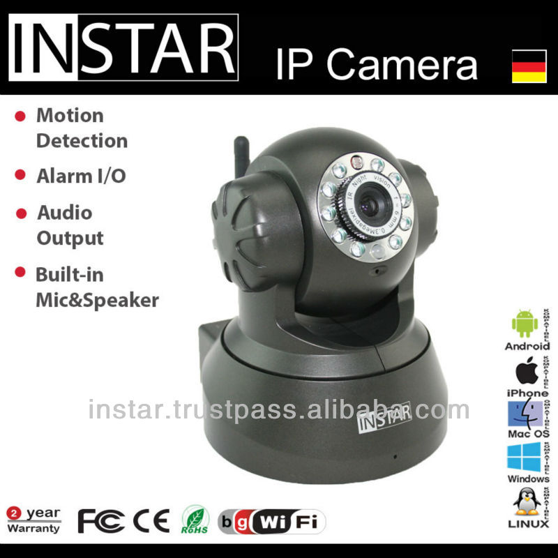 INSTAR IN-3010 Wlan IP Camera with Nightvision and CMOS Sensor