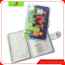 New brand rigid plastic card holder with great price
