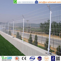 China anping Sanxing wire mesh safety temporary fence factory