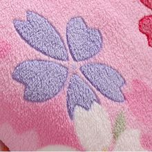 Burnout raised printing coral fleece fabric for bedding blanket garment materials