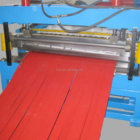 CNC Sheet Metal plate Slitting Unit Metal works machinery