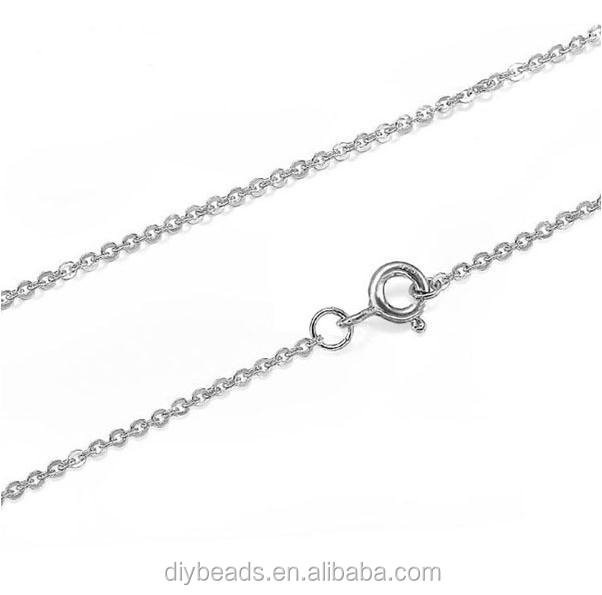 high quality 5mm 925 sterling silver clasp for necklace jewelry making