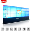Commercial 47 inch lcd video wall 4.7mm ultra narrow Bezel live broadcast 2x3 lcd video wall with big advertising screen