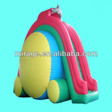 giant inflatable slide and amusement park water slide --Dolphin slide