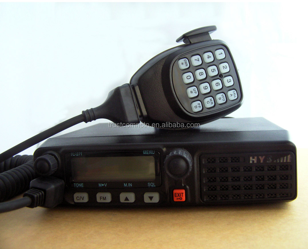 High Power 128 Channels Car mobile Radio TC-271