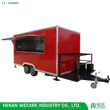 Factory price High quality mobile food cart kiosk van trailer for sale