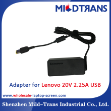 65W AC Adapter For Lenovo 20V 2.25A USB Universal Laptop Adapter