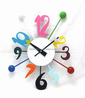 Wholesale New Design Number Wall clock